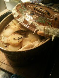 Cuisine maison, d'autrefois, comme grand-mère: Recette de baeckeoffe, le fameux plat viandes et l...