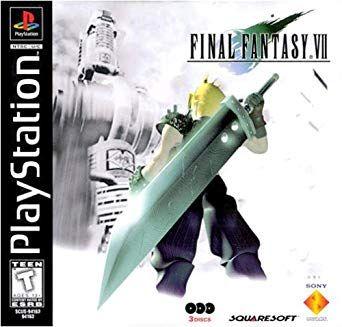Final Fantasy Vii Cover Buscar Con Google Juegos Psx Juegos De Ps1 Descarga Juegos
