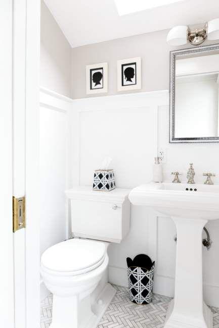 25 Half Bathroom For Your Perfect Guest Bathroom Design Ideas Half Bathroom Basement Bathroom Design Small Half Baths