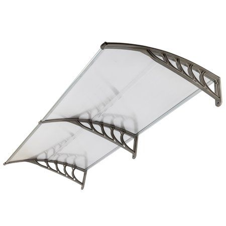 """40/""""x30/""""//40/""""//80/"""" Outdoor Front Door Window Awning Patio Canopy Cover UV Protected"""