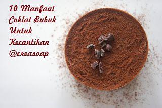 Creasoap 10 Manfaat Coklat Bubuk Untuk Kecantikan Resep Smoothie Coklat Kecantikan