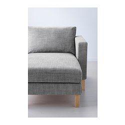 Karlstad Chair in Isunda Grey Armchair
