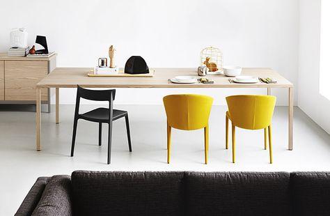 Calligaris-HERON-WOOD_table-AMELIE_chair_LR | Sedie per ...