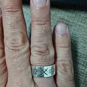 Wedding Style Masonic Ring   Etsy   Masonic   Rings, Masonic