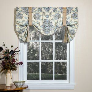 Alcott Hill Marston 100 Cotton Yarn Dyed Tassel Fringe Window Striped Rod Pocket Curtain Panels Review Curtains Kitchen Curtains And Valances Tie Up Valance
