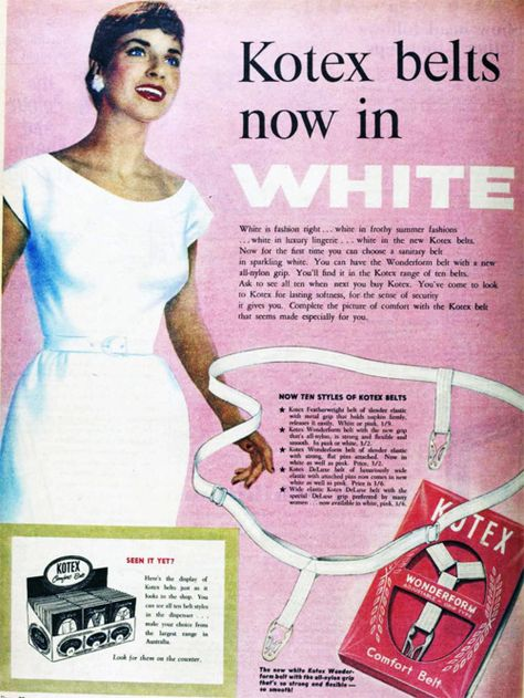 Stayfree Maxi Pads Advert Vintage Ladies Magazine Ad Retro