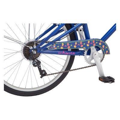 Schwinn Avely 24 Hybrid Bike Blue Cruiser Bike Schwinn Hybrid Bike
