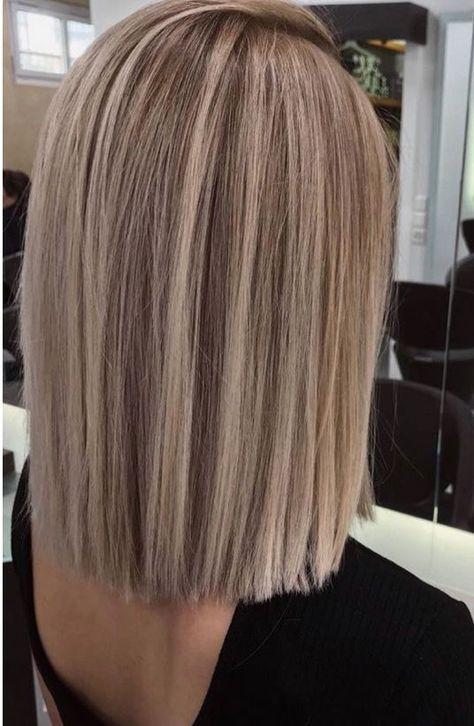 Bob Blond Lange Haare Haarfarben