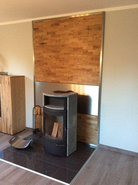 Holz Wandverkleidung hinterm Kamin sicher und einfach selber ...