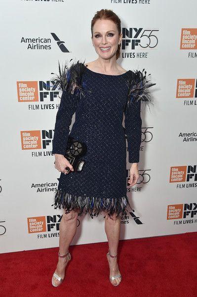 Actress Julianne Moore attends 55th the New York Film Festival screening of 'Wonderstruck.'