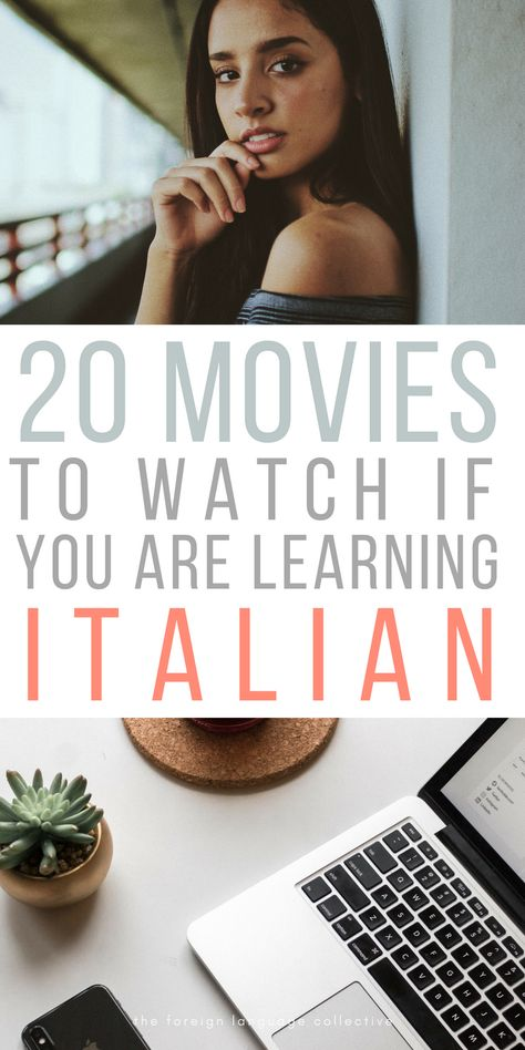 20 Movies To Watch If You Are Learning ItalianYou can find Italian language and more on our Movies To Watch If You Are Learning Italian Italian Grammar, Italian Vocabulary, Italian Phrases, Italian Words, Italian Quotes, Italian Memes, Italian Lessons, Spanish Lessons, Teaching Spanish