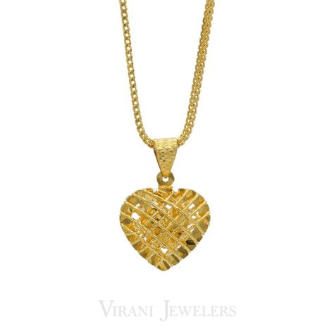 necklace 22K Yellow Gold Hollow...