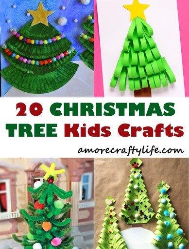 Christmas Tree Kid Crafts Christmas Kid Craft Arts And Crafts Activities Amorecraftylife Com Kidscraft Christmas Crafts For Kids Christmas Crafts Crafts
