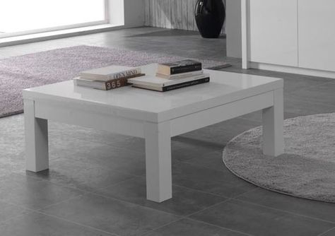 Witte Salontafel Vierkant.Franeker Salontafel Vierkant Wit Huis Table Furniture En Home Decor