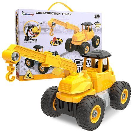 Take Apart Toys City Construction 4 In 1 Take A Part Trucks