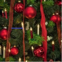 Sapindenoel Lumix Superlight Mini Kabellose Christbaumkerzen 6er Erweiterungs Set Alle Jahre Wieder Familienvorstande Im Clinch Mit Der