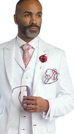 Details about Light grey 3 Piece Tuxedo Man Wedding suits from groom man slim show original title
