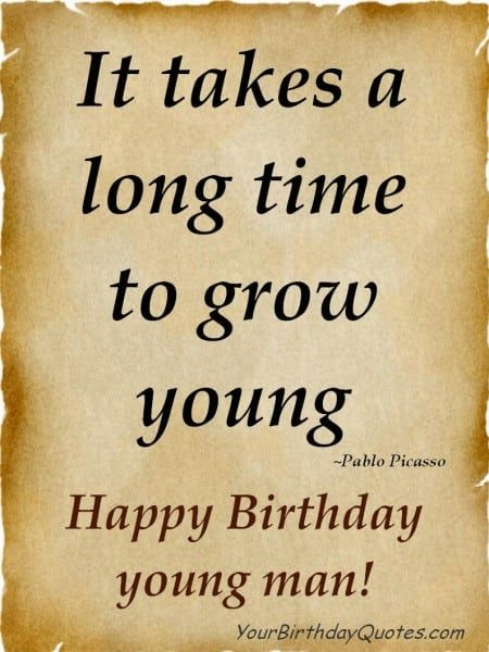 Happy Birthday To My Best Guy Friend Quotes Happy Birthday