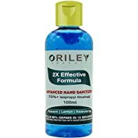Oriley Waterless Hand Sanitizer 70 Isopropyl Alcohol Based