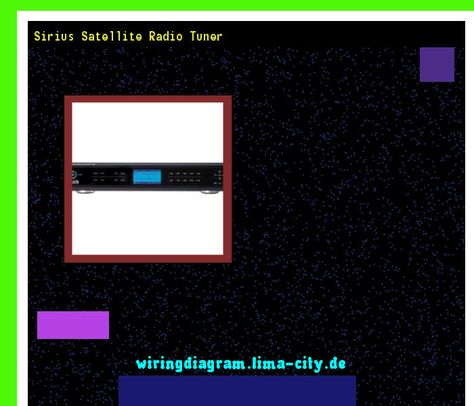 Sirius satellite radio tuner. Wiring Diagram 18326 ... on