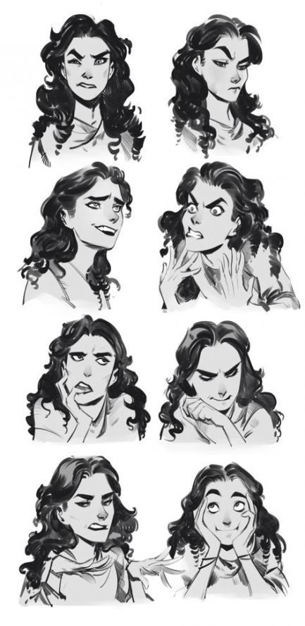 64 Trendy Drawing Poses Female Hair Character Design Sketches How To Draw Eyebrows Female Face Drawing