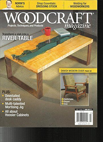 Wood Craft Magazine Projects Techniques Products June July