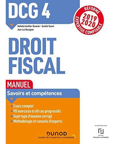 Telecharger Dcg 4 Droit Fiscal Manuel Reforme 2019 2020 Reforme Expertise Comptable 2019 2020 Livre Pdf Gr Telechargement Comptabilite Telecharger Gratuit