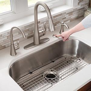 kitchen beverage faucets moen