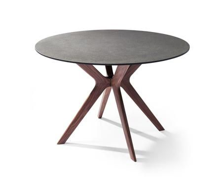 Redondo Collection Dt1241 Wlt 48 Dining Table With Round Shape