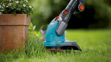 Rasenkante Sauber Schneiden Mit Gardena In 2020 Rasenkanten Bepflanzung Gartenblumen