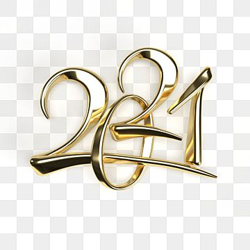 Happy New Year 2021 Golden Metal Numbers Realistic 3d Render Signs Greeting Merry Golden Png Transparent Clipart Image And Psd File For Free Download Newyear New Year Clipart Happy New Year Background