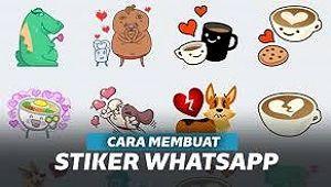 Cara Membuat Stiker Whatsapp Sendiri Android Dan Iphone 2020 Stiker Iphone Android