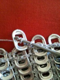 Pull Tab - Soda Tab - Crochet generation-crochet ♥ beautiful stuff loads more to…