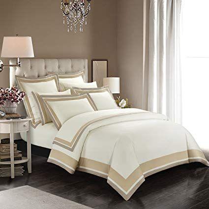 Casabolaj Shading 3 Pieces Duvet Cover Set Quilt Cover Set 100 Egyptian Cotton Sateen 400 Threa Duvet Cover Sets Turquoise Duvet Cover Affordable Bedding Sets