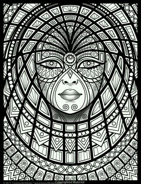 Pin By Lucie On Art Omalovanky Zentagle Masky
