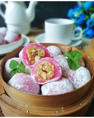Mochi Kacang Wijen Kacang Moci Makanan Penutup
