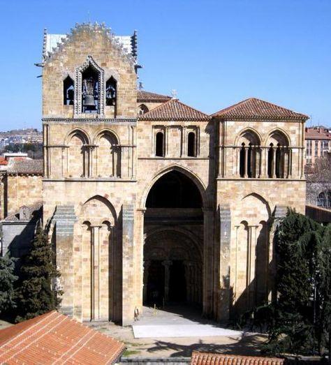 Románico De ávila Basílica De San Vicente