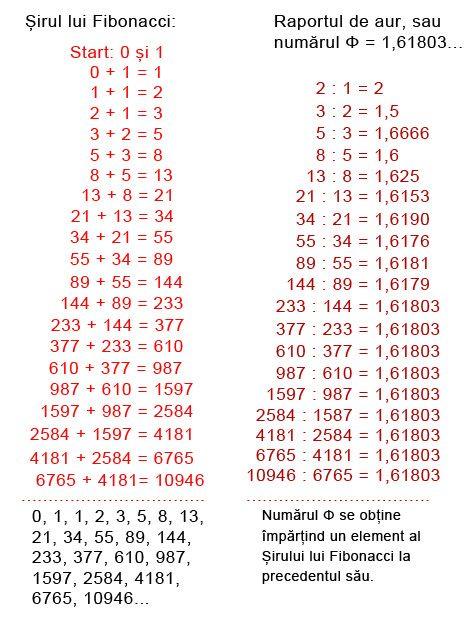 Aplicatie Directa Pentru Sirul Lui Fibonacci In Tamplarie Con