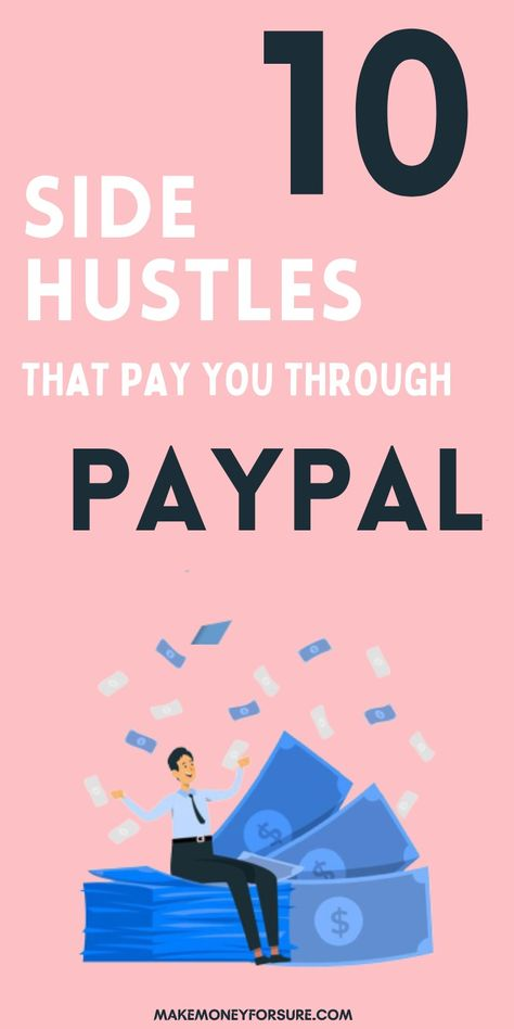 40 stupid-simple home jobs that will pay through PayPal.