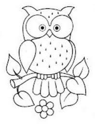 Resultado De Imagen Para Buhos Para Pintar Owl Patterns Owl Crafts Applique Patterns