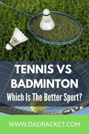 Tennis Vs Badminton Which Is The Harder Sport Badminton Badminton Sport Tennis