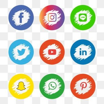 Social Icons Logo Icons Media Icons Illustrator Icons Social Media Icon Facebook Instagram Twitter W Logo Design Free Templates Social Media Icons Social Icons