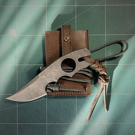 edc EDC neck knife Griffon #knife...