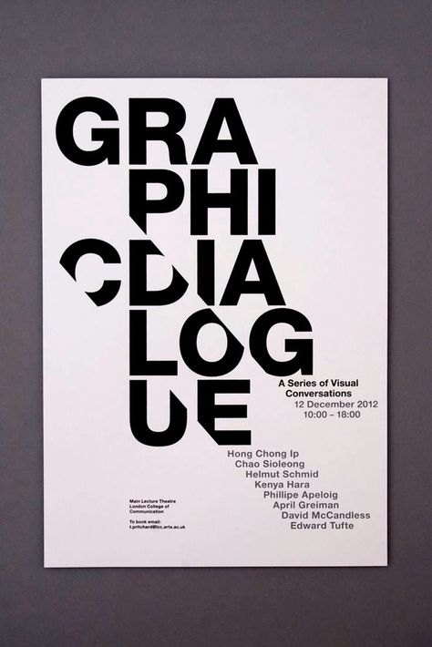 11+ Bold Typography Poster Examples, Templates & Ideas – Daily Design Inspiration #30