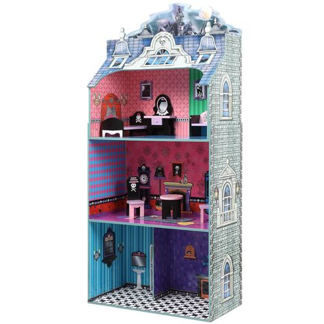 Teamson Kids Monster Mansion Doll House with Furniture   Overstock.com Shopping - Great Deals on Teamson Dollhouses
