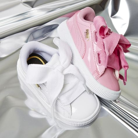 Basket Heart Inf | Puma basket heart, Baby girl shoes, Baby ...
