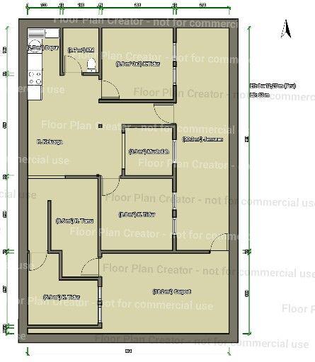 Another Floorplan 98sq M Land Growinghouse Rumahtumbuh Tahap 2 Part 2 Memakai Rumahrisha Rumah Risha