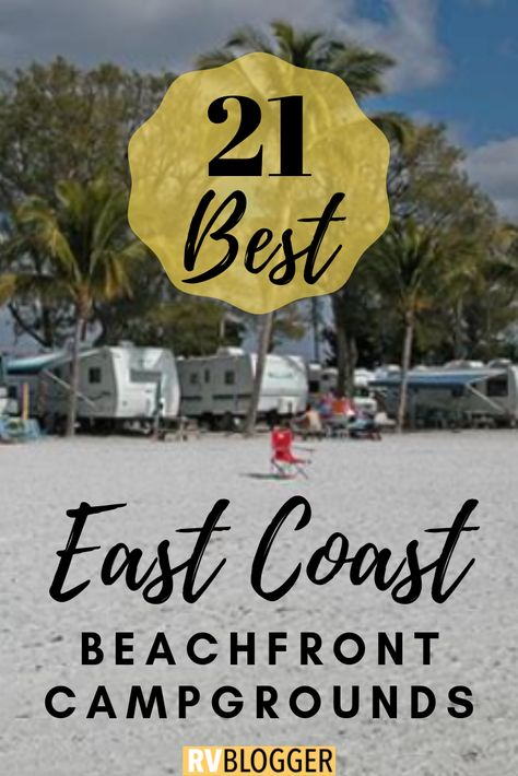 Check out these RV oceanfront parks for RV Beach Camping! This camping on the beach travel guide features RV oceanfront and beach campgrounds! Click, Save or Send to explore the beauty of oceanfront camping Rv Camping Tips, Camping Places, Van Camping, Camping Ideas, Camping Recipes, Camping Signs, Camping Packing, Camping Life, Outdoor Camping
