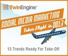 13 Social Media Marketing trends voor 2013 [Infographic]