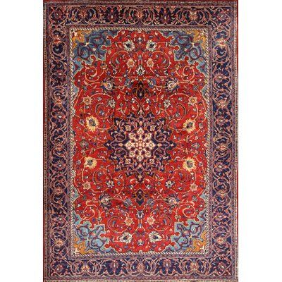 Toowoomba Traditional Red Blue Area Rug